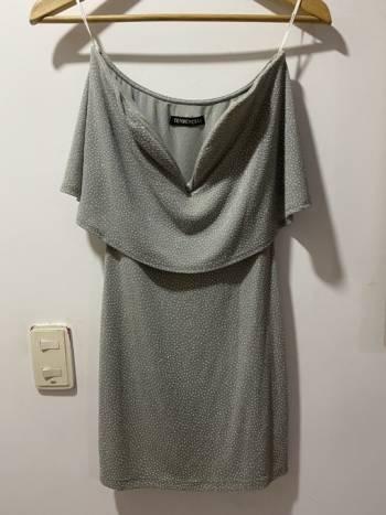 Foto Carousel Producto: Vestido Gris GoTrendier