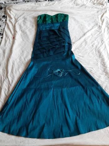 Foto Carousel Producto: Vestido Verde Esmeralda Divino GoTrendier