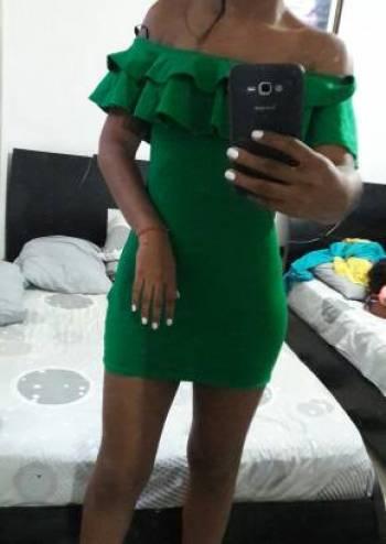 Foto Carousel Producto: Hermoso Vestido verde Esmeralda GoTrendier
