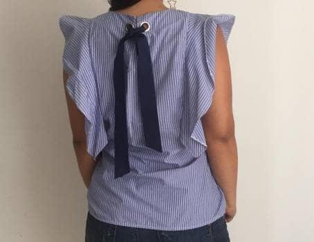 Foto Carousel Producto: Blusa ELA rayas GoTrendier