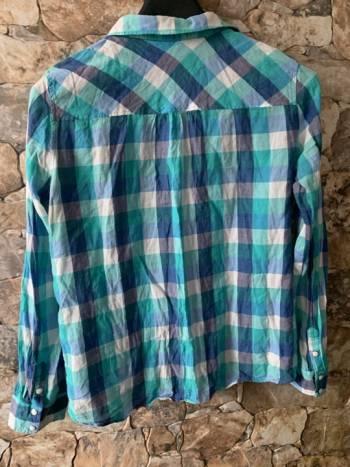 Foto Carousel Producto: Camisa multicolor cuadros GoTrendier
