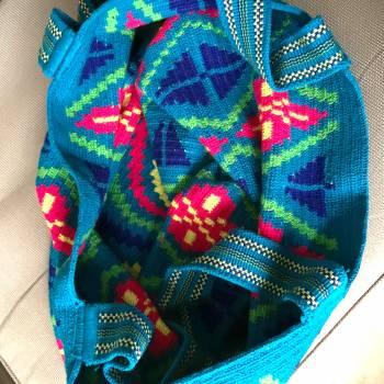 Foto Carousel Producto: Mochila extra grande Wayu tejido delgado GoTrendier