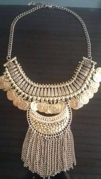 Foto Carousel Producto: Collar grande envejecido GoTrendier