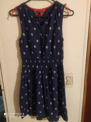 Foto Carousel Producto: Vestido azul de Tommy Hilfiger GoTrendier