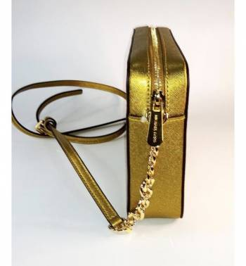 Foto Carousel Producto:  Crossbody dorado - michael kors GoTrendier