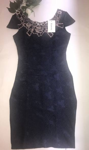 Foto Carousel Producto: Vestido Esspring azul oscuro GoTrendier