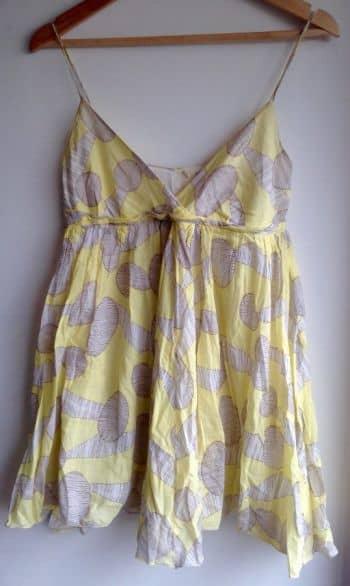 Foto Carousel Producto: Vestido playa amarillo GoTrendier
