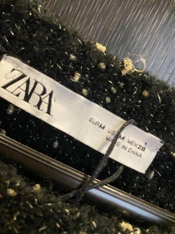 Foto Carousel Producto: Saco negro Zara GoTrendier