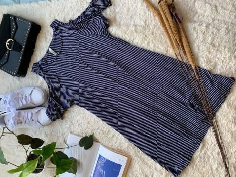 Foto Carousel Producto: SLPJ004  Vestido rayas GoTrendier
