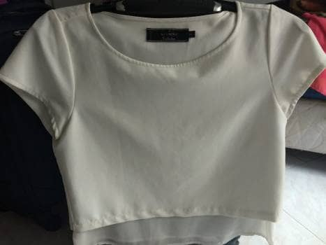Foto Carousel Producto: Blusa blanca formal  GoTrendier
