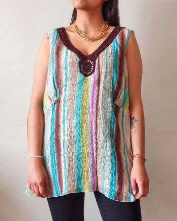 Foto Carousel Producto: Blusa multicolor  GoTrendier