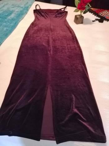Foto Carousel Producto: Vestido largo color vino GoTrendier