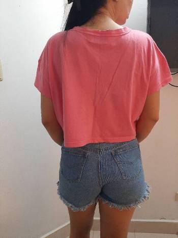 Foto Carousel Producto: Crop top rosado  GoTrendier