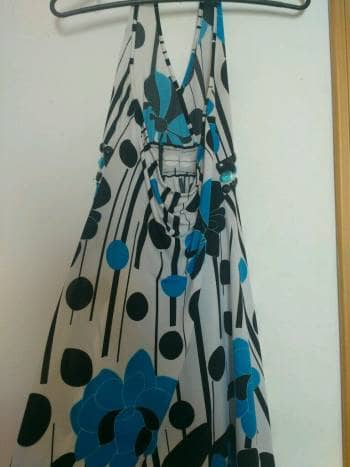 Foto Carousel Producto: Vestido floreado de fiesta GoTrendier