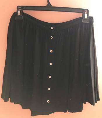 Foto Carousel Producto: Falda negra de botones Sybilla GoTrendier