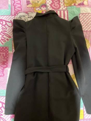 Foto Carousel Producto: Vestido Italiano Corto Negro ( NUEVO) GoTrendier
