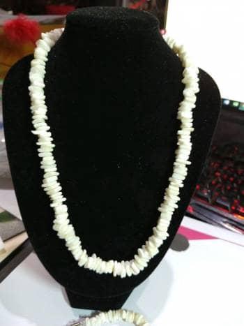 Foto Carousel Producto: Collar y pulsera de piedra GoTrendier