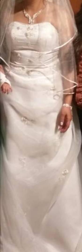 Foto Carousel Producto:  Vestido de Novia Blanco Americano  GoTrendier