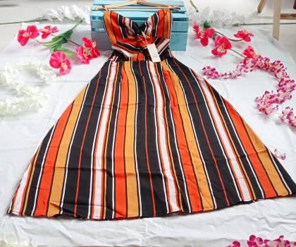 Foto Carousel Producto: NUEVO! Divino vestido rayas GoTrendier