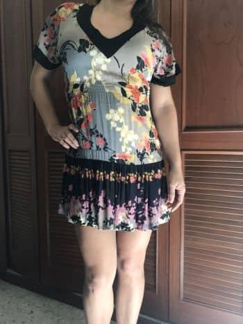 Foto Carousel Producto: Vestido estampado a media pierna GoTrendier