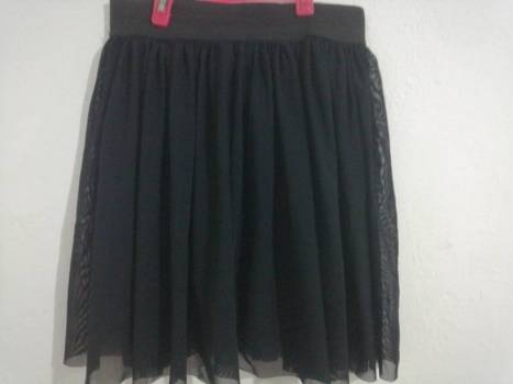 Foto Carousel Producto: Falda negra en tull GoTrendier