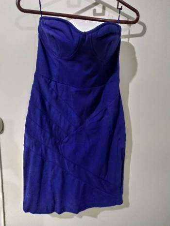 Foto Carousel Producto: Vestido azul de coctel GoTrendier
