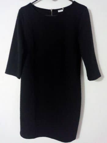 Foto Carousel Producto: Vestido negro casual manga 3/4 GoTrendier