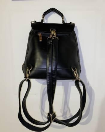 Foto Carousel Producto: Bolso Negro con cuerdas desprendibles GoTrendier