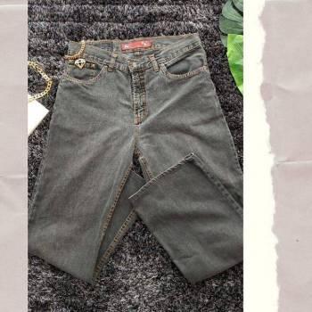 Foto Carousel Producto: Mom jeans gris GoTrendier