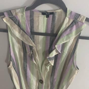 Foto Carousel Producto: Vestido colores pastel  GoTrendier