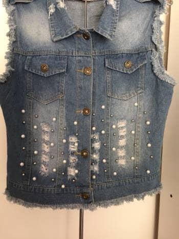 Foto Carousel Producto: Chaleco de jeans GoTrendier