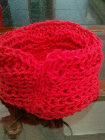 Foto Carousel Producto: Bufanda tejida a mano en crochet GoTrendier