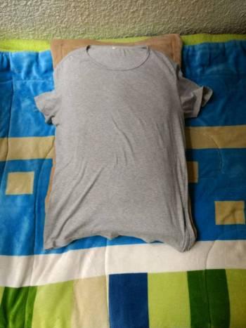 Foto Carousel Producto: Camiseta gris GoTrendier