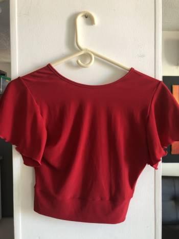 Foto Carousel Producto: Crop top rojo  GoTrendier