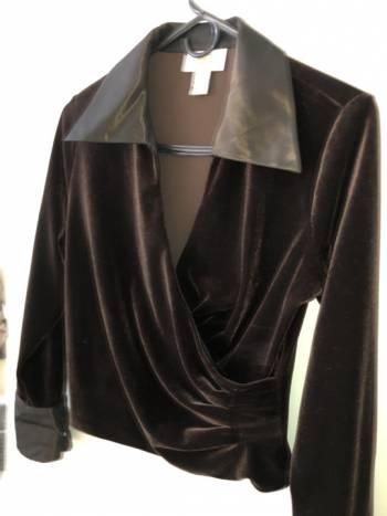 Foto Carousel Producto: Blusa manga larga terciopelo  GoTrendier