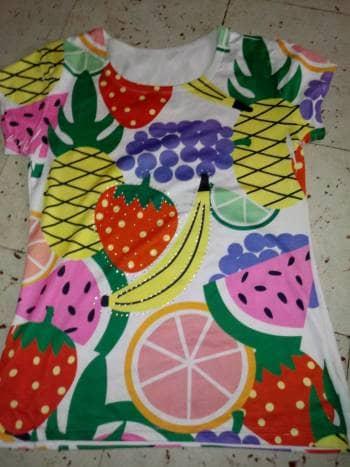 Foto Carousel Producto: Blusa de frutas GoTrendier