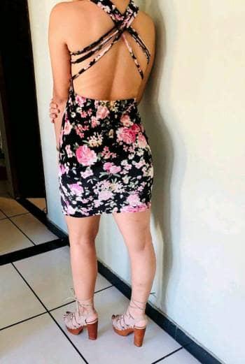 Foto Carousel Producto: Vestido gamuza  GoTrendier