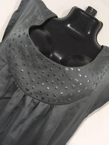 Foto Carousel Producto: Vestido englobado con bolsillos GoTrendier