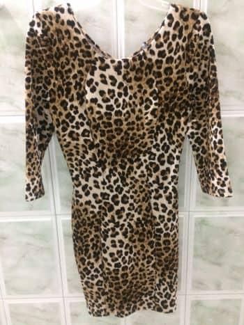 Foto Carousel Producto: Vestido Leopardo GoTrendier