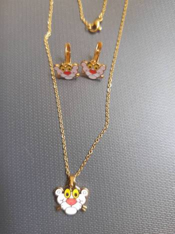 Foto Carousel Producto: Kit Pantera Rosa Reloj +2 Juegos joyas GoTrendier