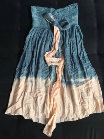 Foto Carousel Producto: Vestido casual azul degradado GoTrendier