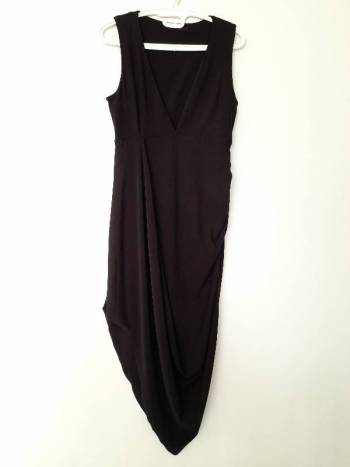 Foto Carousel Producto: Vestido negro coctel GoTrendier