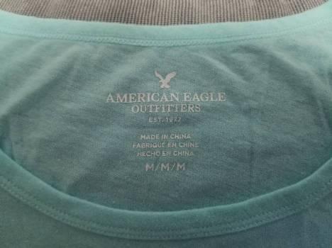Foto Carousel Producto: Buso azul celeste American Eagle GoTrendier