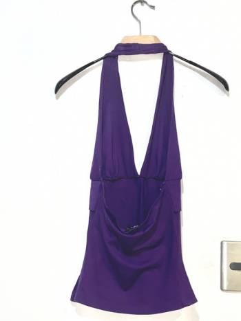 Foto Carousel Producto: Blusa purpura oscuro studio f GoTrendier