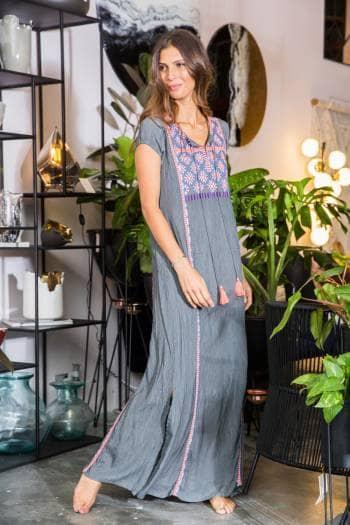 Foto Carousel Producto: Vestido largo suelto GoTrendier