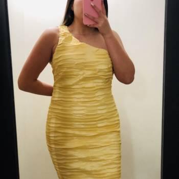 Foto Carousel Producto: Vestido corto amarillo!! GoTrendier