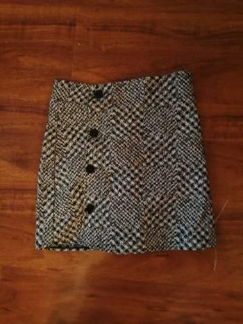 Foto Carousel Producto: Short gris a cuadros GoTrendier