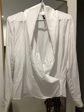 Foto Carousel Producto: Blusa blanca Naf Naf GoTrendier
