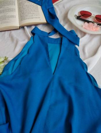 Foto Carousel Producto: Hermoso vestido tipo Halter GoTrendier