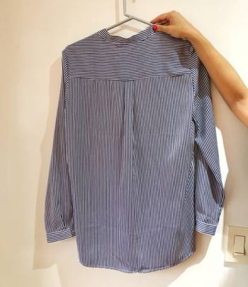 Foto Carousel Producto: Camisa de rayas azul de Mango GoTrendier
